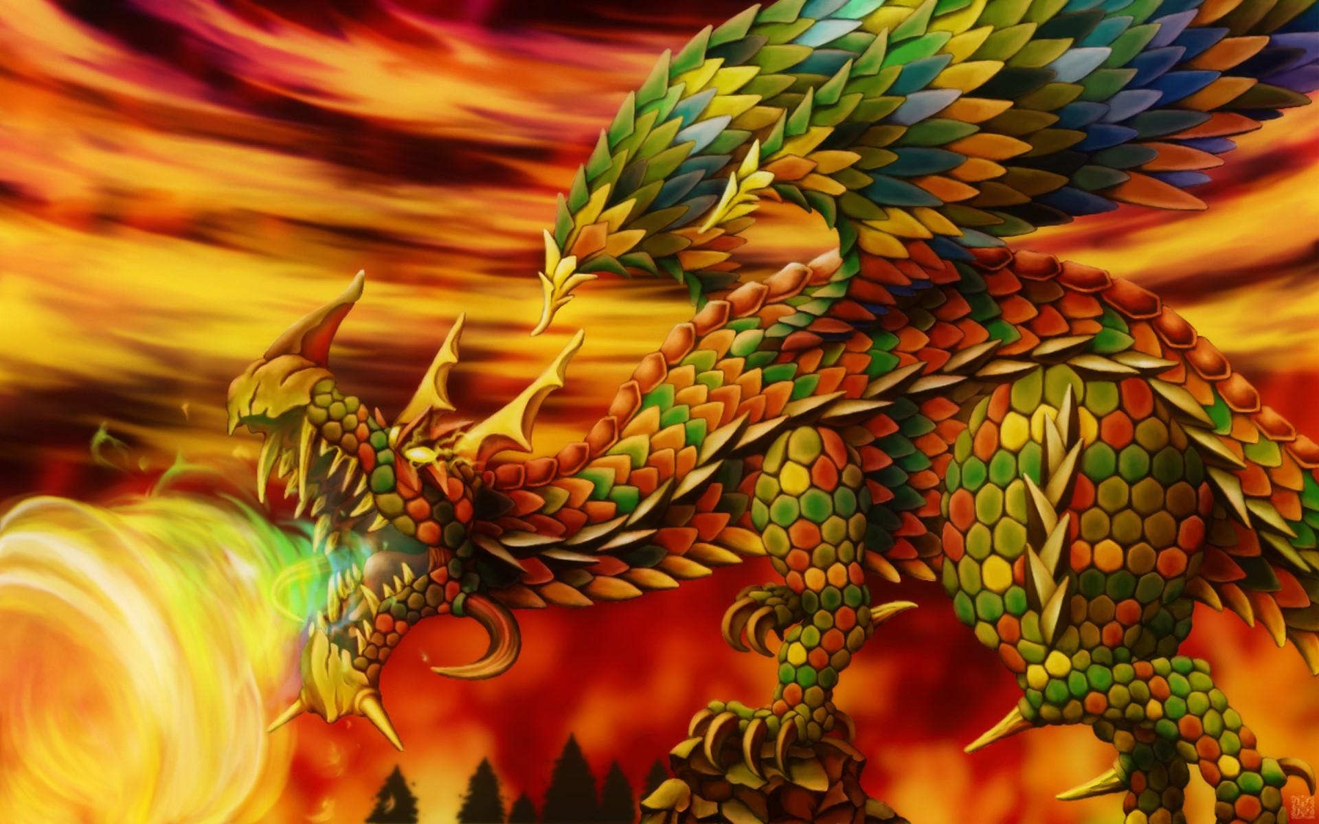 炎ドラゴン